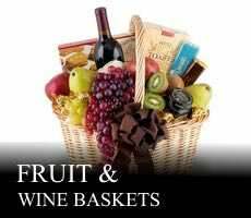 Fruit & Wine baskets Europe