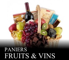 Paniers Fruits & Vins
