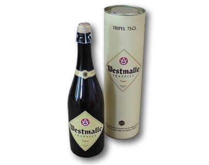 Bottle of Westmalle Triple (75cl) abbey beer