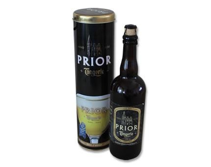 Bottle of Prior Triple (75cl)abbey beer