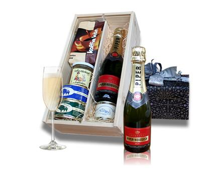 Belgian Delicacies and French Champagne
