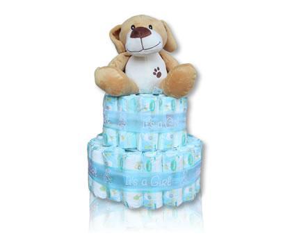Diaper Cake-It's a girl
