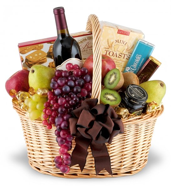 Fruit, wine & chocolate