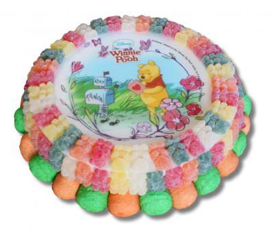 Candy Cake Winnie de pooh