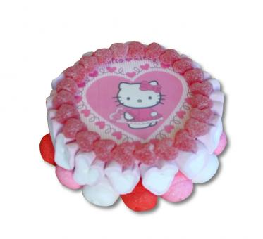 Candy Cake Hello Kitty