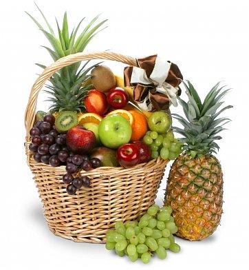 Giant fruit basket