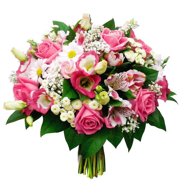 Rose colour bouquet