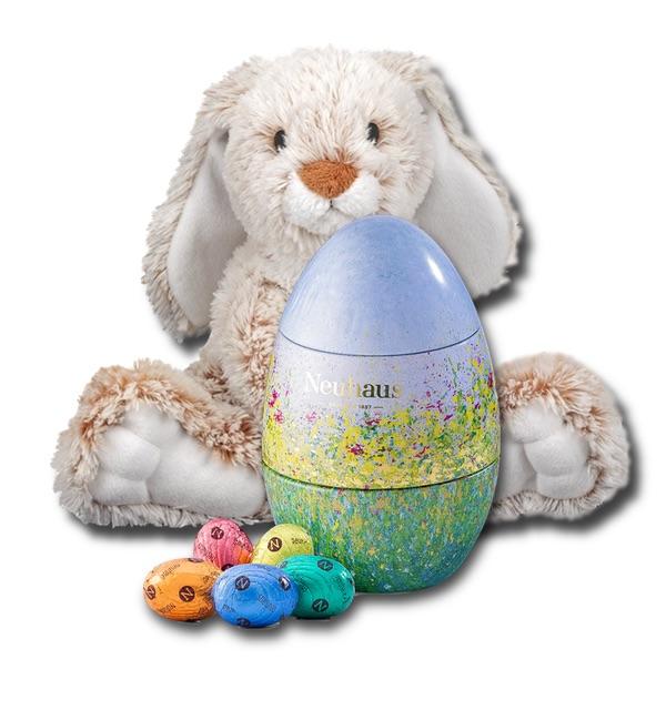Neuhaus Easter egg with Easter bunny