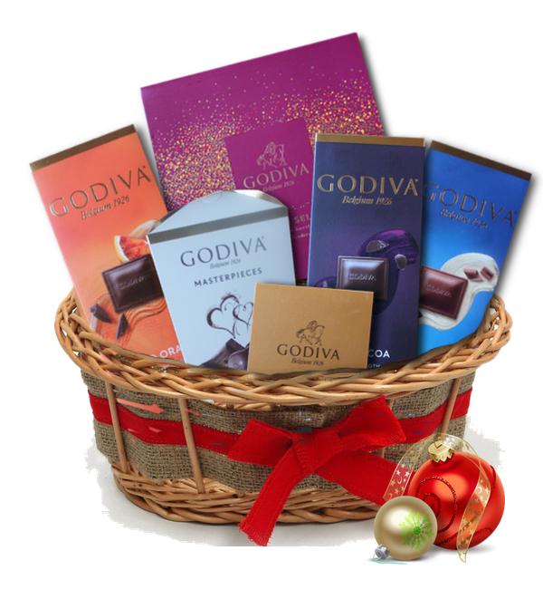 GODIVA giftbasket